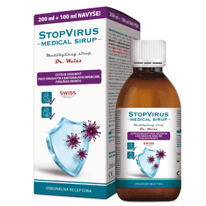 STOPVIRUS Medical sirup Dr. Weiss 200 ml + 100 ml navyše