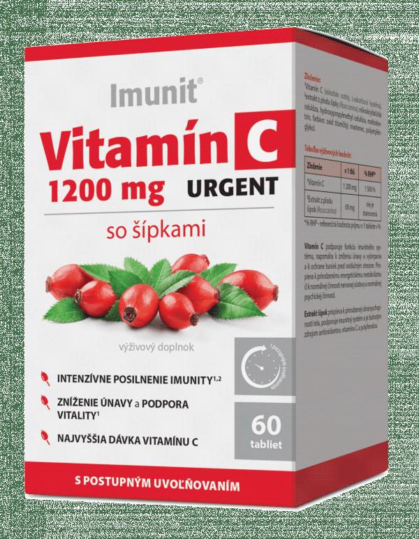 Imunit Vitamín C 1200 mg URGENT