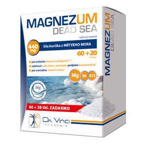 Magnezum Dead Sea - Da Vinci Academia – 60 +20 tbl.