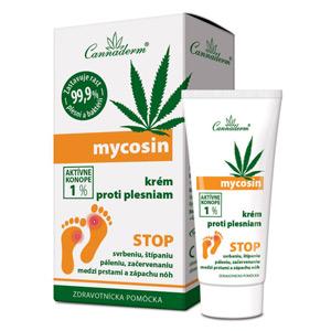 Cannaderm Mycosin krém proti plesniam 30 g